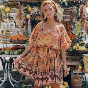 Spell Buttercup Mini Dress